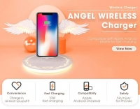 Angel Wing Mobile Phone Stand Wireless Charger