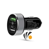 Momax UC series Dual-port Fast Car Charger