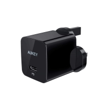 Aukey Wall Charger With Power Delivery 18W Black