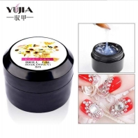 Glue to paste artificial nails or paste nail accessories