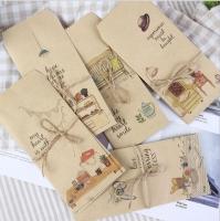 Lucite envelope postcard 5 pieces