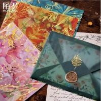 Lucite envelope 3 pieces