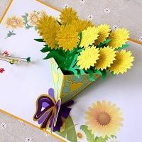 3D Flower Bouquet Card