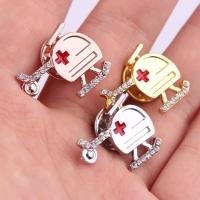 Medical professionals brooch