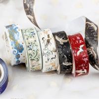 Decorative adhesive tapes