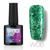 Rosalind Diamond Gel Nail Polish - 10 ml w06