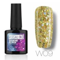 Rosalind Diamond Gel Nail Polish - 10 ml w09