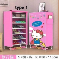 Shoes cabinet  Hello Kitty 6 layers