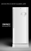 enfinity-door refrigerator alone with a 12-foot refrigerator