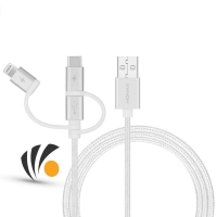 One Link 3-in-1  USB-A to Micro/Lightning/Type C