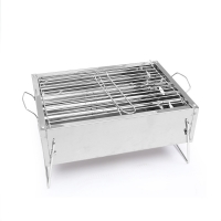 Charcoal BBQ Outdoor Folding stainless steel