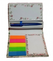 A box of decorative notes