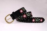 Suede Fabric Women Belt