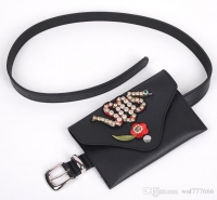 Leather women s waist belt