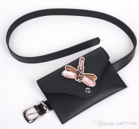 Leather women s waist belt