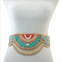 Women s hand made belt