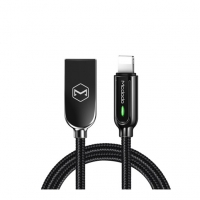 Smart Series Auto Power Off Lightning Cable 1.2m With LED