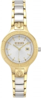 Versus by Versace Claremont Women s VSP1T0819 Silver Dial Two Tone Stainless Steel Bracelet Watch