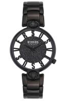 VERSUS by VERSACE Kirstenhof Crystals Black Stainless Steel Bracelet VSP491619