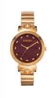 Versus by Versace Women s Marion Gold Quartz Two-Tone-Stainless-Steel Strap  14 Casual Watch  Model  VSPEO1019