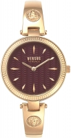 Versus by Versace Women s Brigitte Quartz Strap  Rose Gold  11.5 Casual Watch  Model  VSPEP0419