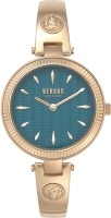 Versus by Versace Women s Brigitte Quartz Strap Rose Gold 11.5 Casual Watch Model VSPEP0519
