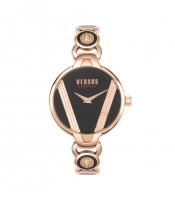 Womens Wristwatch VERSUS Versace SAINT GERMAIN VSPER0519 Steel Gold Rose Black