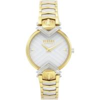 Versus Versace Women s Mabillon Watch in Steel and Gold  VSPLH0619