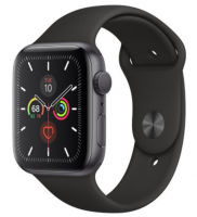 Apple Watch Series 5 GPS 44mm Space Gray Aluminum Case With Sport Band - MWVF2 Original Box