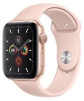 Apple Watch Series 5 GPS 44mm Gold Aluminum Case With Sport Band - Original Box