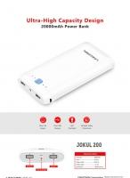 Power Bank 20000mAh Jokul200 LINKCOMN-SmartBuy