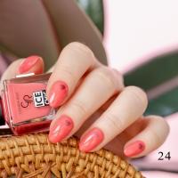 Cold rose nail polish