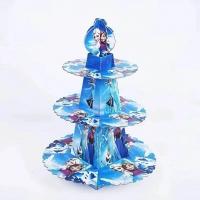 Cartoon cup cake stand