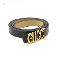 Brand leather belt for women