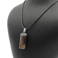 Women's necklace is a natural stone