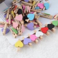 Heart shaped clips