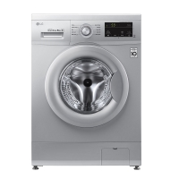 LG Full Automatic Washer  8Kg - silver