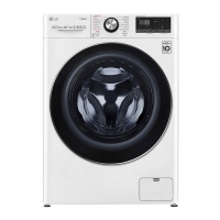 LG washing machine size 10.5 kg _ white