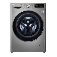 LG Washing Machine Full Dryer Steam 9 kg _ Silver
