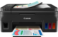 Printer Canon Pixma G4400 With Warranty Card