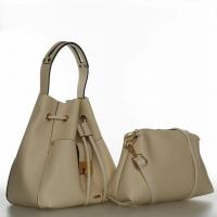 Handbag with two purse