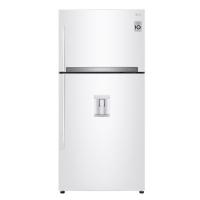 LG refrigerator inverter with refrigerator - 21 feet - white