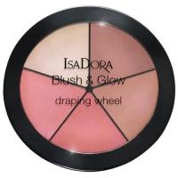 IsaDora Blush & Glow Draping Wheel No. 55 Peachy Rose Pop 18 Gr