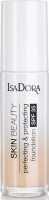 IsaDora Skin Beauty Perfecting & Protecting Foundation Spf 35 Natural Beige 30 ml