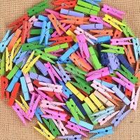 50pcs colorful clip