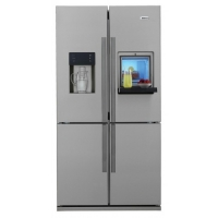 Side-by-side refrigerator - beko (two doors) 18 feet - silver color