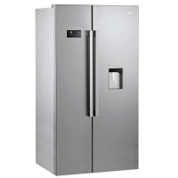 Side-by-side refrigerator - beko (two doors) 24 feet - silver color