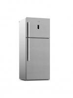 No frost refrigerator -arcelik - 20 feet - steel color