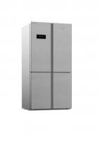 No frost refrigerator -arcelik - 24 feet - steel color