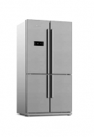 Side-by-side refrigerator (4 doors)arcelik - 26 feet - steel color